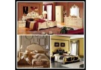 Döşemelik Kumaş-Klasik Yatak Odası Kumaşları