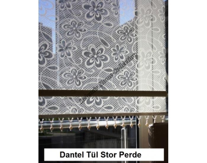 Dantel Stor Perde-Salon