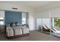 Yatak Odası Polyester Stor Perde