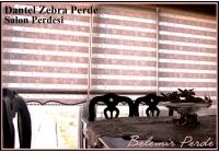 Dantel Zebra Perde 78