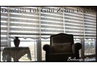 Dantel Zebra Perde 82