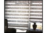 Dantel Zebra Perde 83