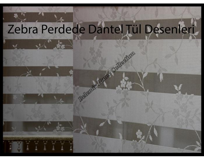 Dantel Zebra Perde 74