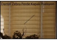 Ofis Dantel Zebra Perde